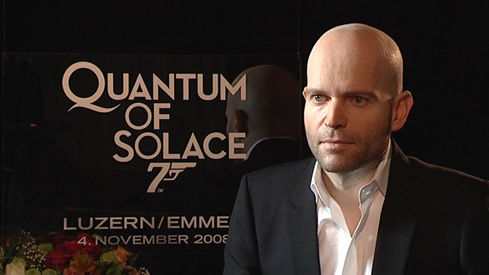 QUANTUM OF SOLACE, Marc Forster, National Luzern 2008
